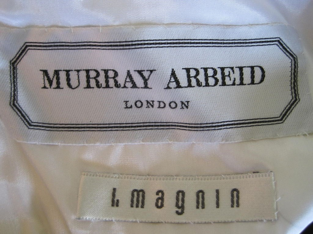 Vintage Dresses - Vintage 1990's Murray Arbeid Chiffon Cocktail Dress