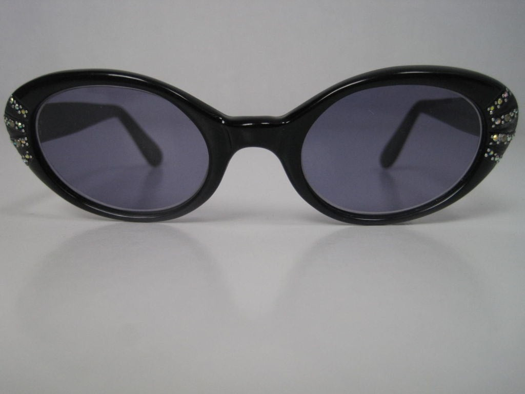 1950's Sunglasses French Cat Eye Vintage - regenerationvintageclothing