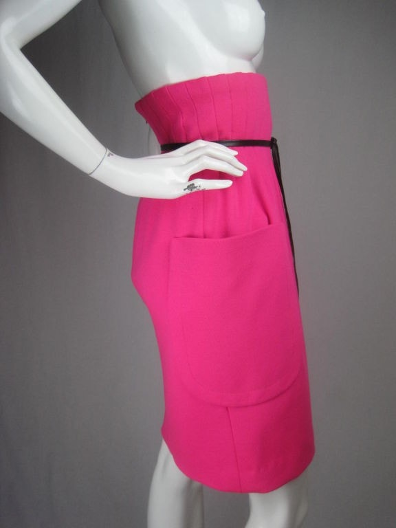 Vintage 1960's Pierre Cardin High-Waisted Skirt