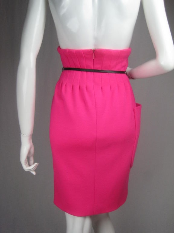 Pierre Cardin Skirt 1960's High-Waisted Vintage - regenerationvintageclothing