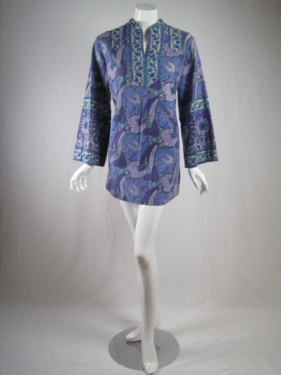 1970's Mini Dress I. Magnin Vintage - regenerationvintageclothing