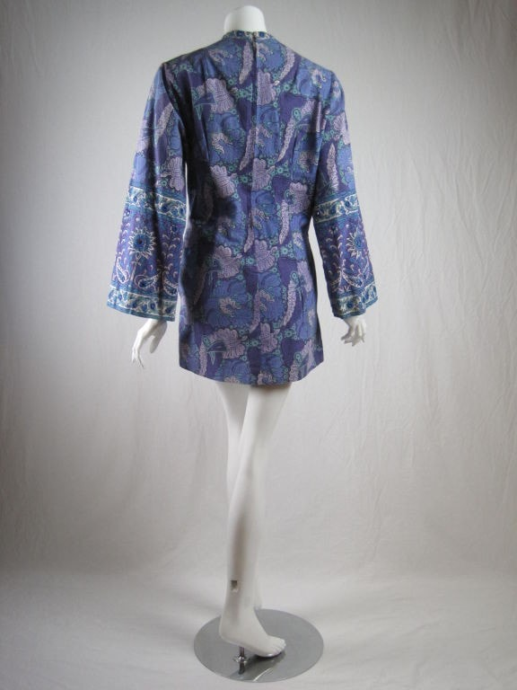 Vintage 1970's I. Magnin Mini Dress