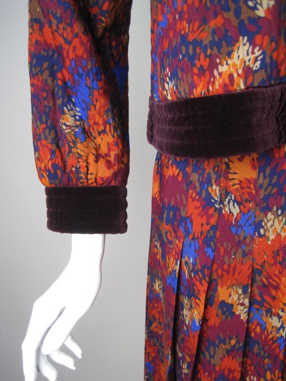 Vintage 1970's Yves Saint-Laurent Skirt Suit