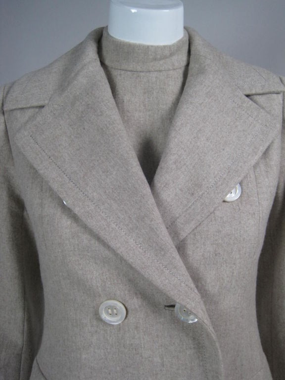 Christian Dior-New York Dress and Coat 1960's Ensemble Vintage - regenerationvintageclothing