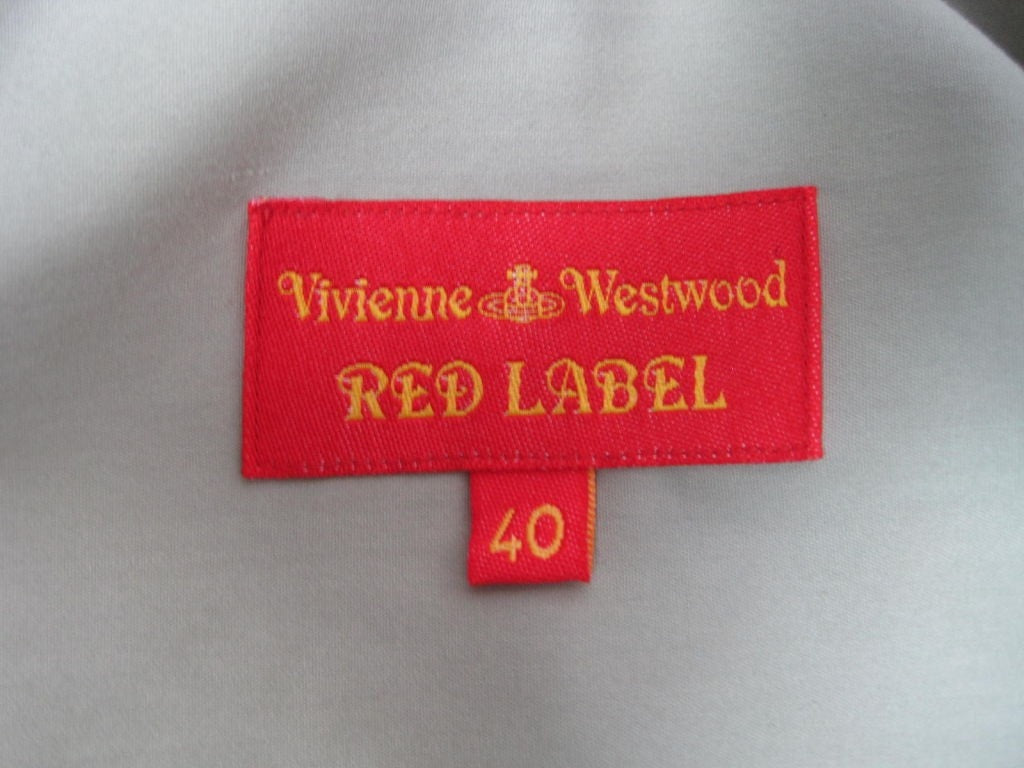 Vivienne Westwood Blouse 2000's Red Label Asymmetrical Vintage - regenerationvintageclothing