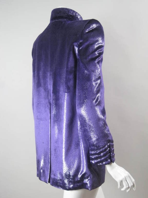 Vintage 1980's Krizia Purple Jacket