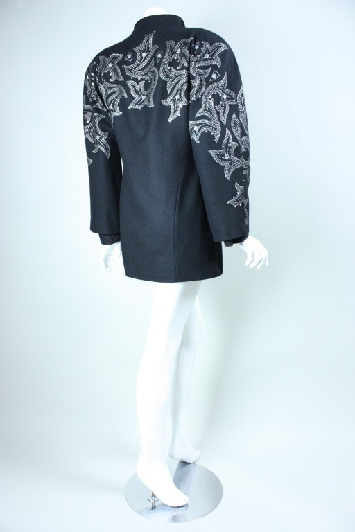 1980's Mini Dress andJacket Byblos Vintage - regenerationvintageclothing