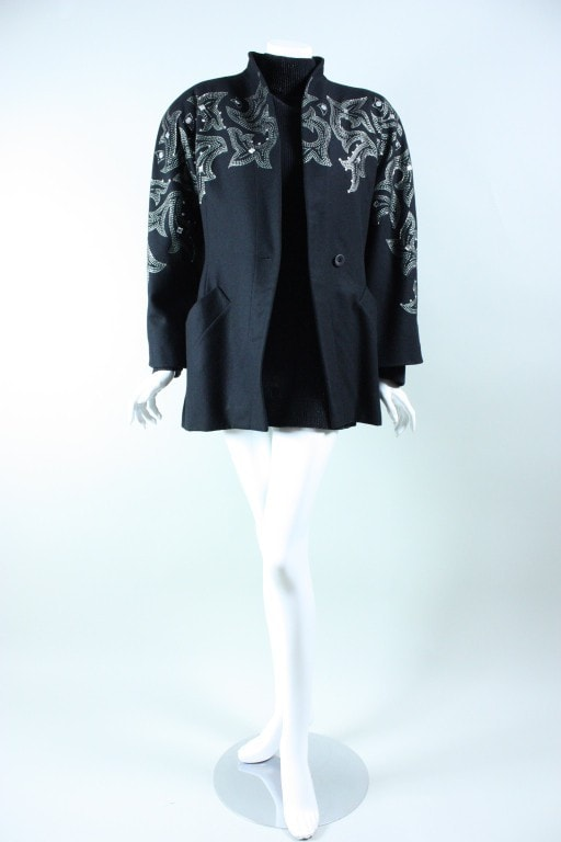 Vintage 1980's Byblos Jacket And Mini Dress