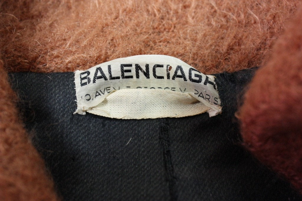 Balenciaga Barrel Coat 1957 Haute Couture Vintage - regenerationvintageclothing
