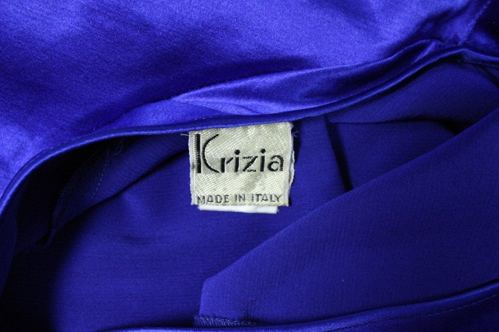 Krizia Gown 1990's One-Sleeved Vintage - regenerationvintageclothing
