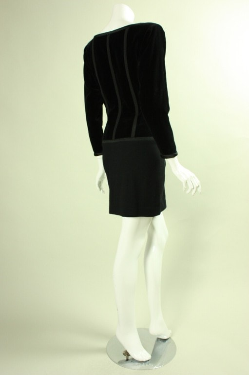 Yves Saint-Laurent Cocktail Dress 1990's Vintage - regenerationvintageclothing
