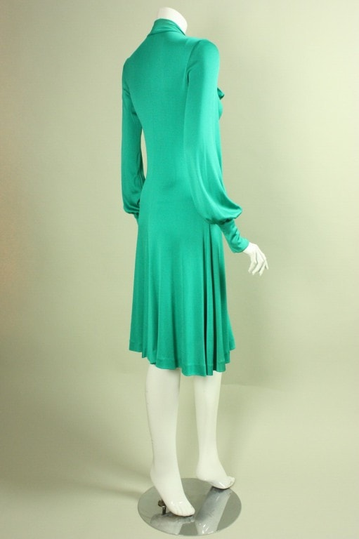 Vintage 1970's Giorgio Sant Angelo Jersey Dress