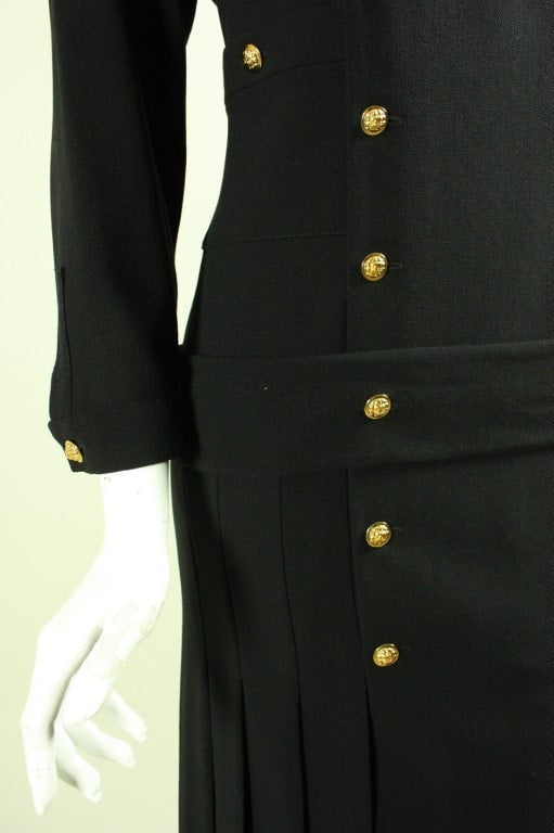 Vintage 1990's Chanel Dress With Vintage 1920's Styling