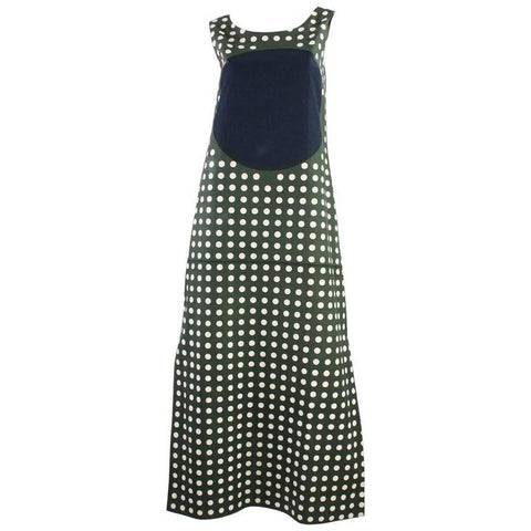 Vintage Clothing: 1960's Marimekko Graphic Cotton Maxi Dress