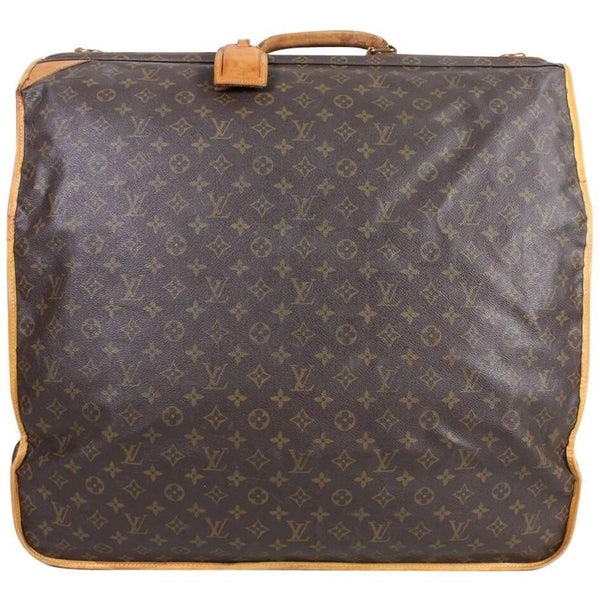 Vintage 1990's Louis Vuitton Monogram Garment Bag Luggage
