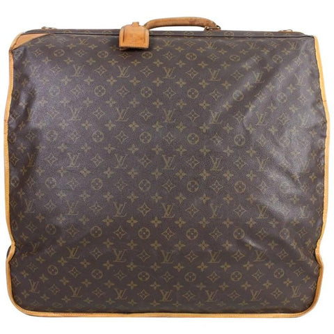 Louis Vuitton Garment Bag 1990's Monogram Luggage Vintage - regenerationvintageclothing
