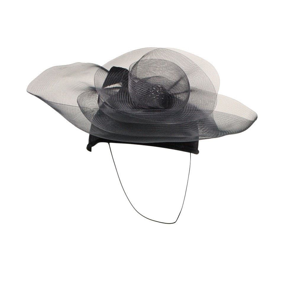 Vintage Clothing: 1980's Philip Somerville Sculptural Cocktail Hat