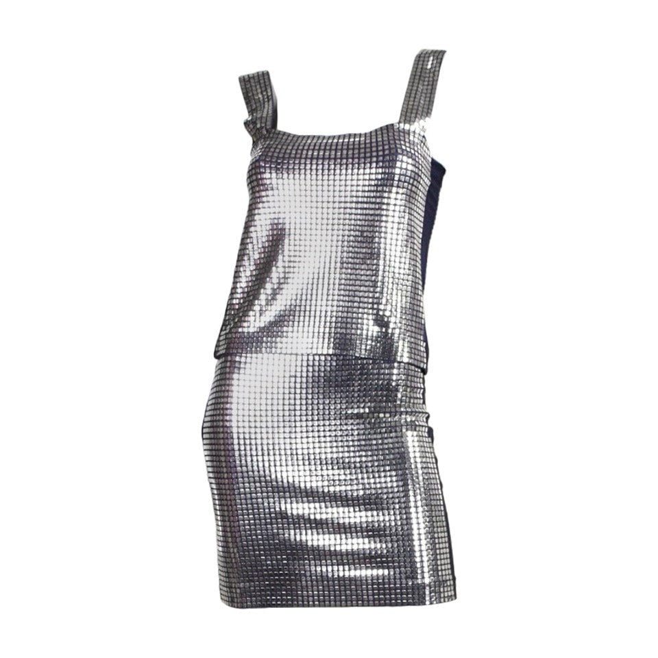 Vintage Clothing: 1980's Paco Rabanne Metal Studded Ensemble
