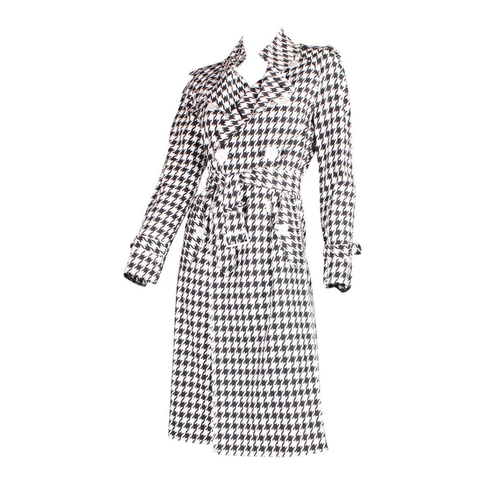 Vintage Clothing: 2003 Junya Watanabe for Comme des Garcons Houndstooth Trench