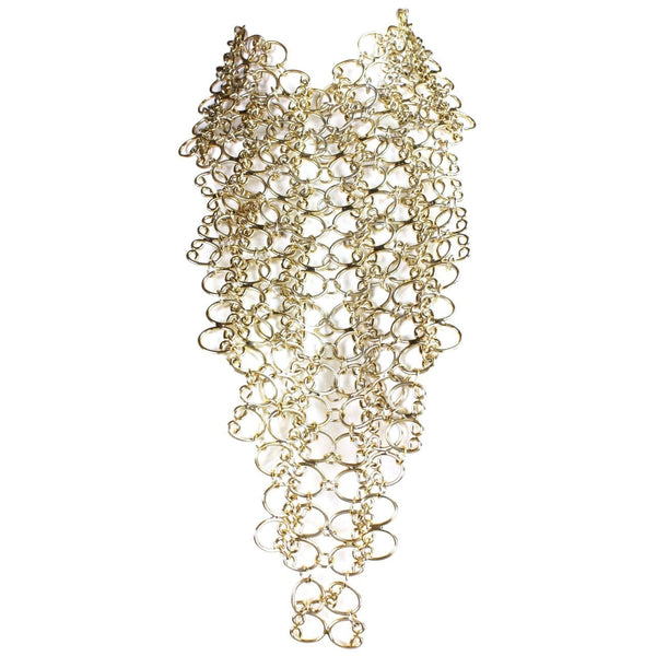 Vintage Jewelry: 1960's Pauline Trigère Massive Statement Bib Necklace