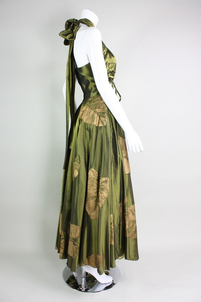 1950's Ensemble Dorothy McNab Silk-Screened Vintage - regenerationvintageclothing