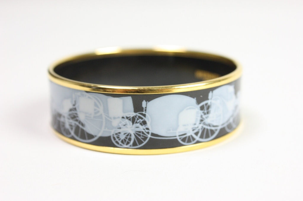 Hermès Bangle Enamel Vintage - regenerationvintageclothing
