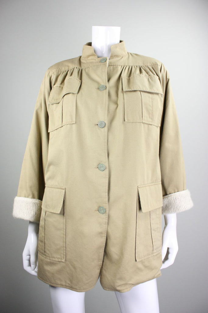 Ted Lapidus Jacket 1970's  Safari Vintage - regenerationvintageclothing