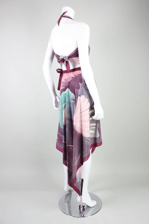 Vintage 1970's Printed Silk Ensemble Gucci