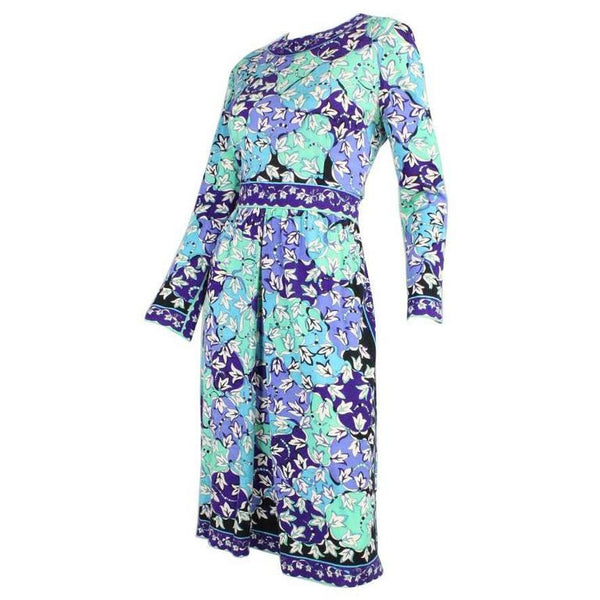 Vintage Clothing: 1970's Pucci Cashmere Blend Printed Dress