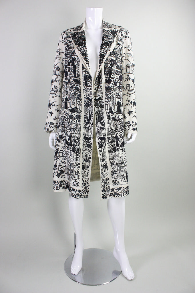 Vintage 1920's Chinese Hand Embroidered Coat