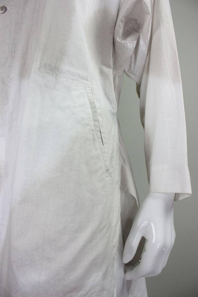 1980's Issey Miyake Plantation Ensemble Printed Cotton - regenerationvintageclothing