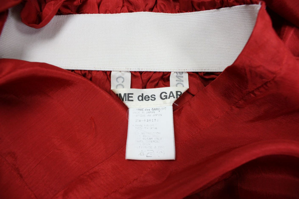 1984/85 Comme des Garcons Blouse with Elastic Shirring - regenerationvintageclothing