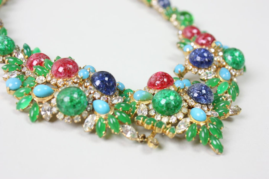 Vintage 1960's Christian Dior Necklace & Earrings