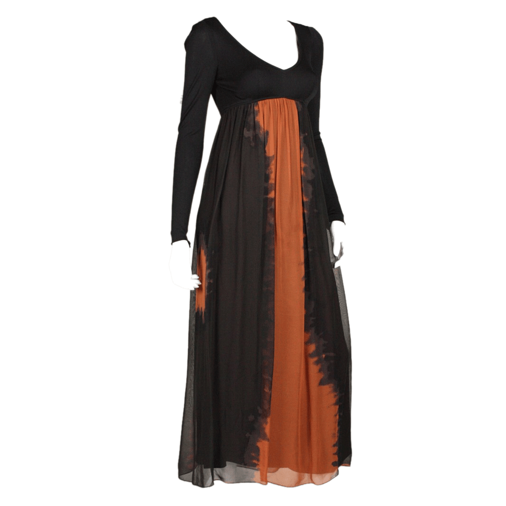 Vintage Clothing: 1970's Miss Magnin Maxi