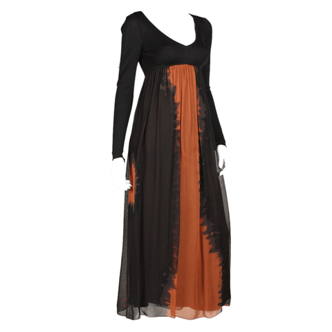 1970's Maxi Dress Miss Magnin Vintage - regenerationvintageclothing