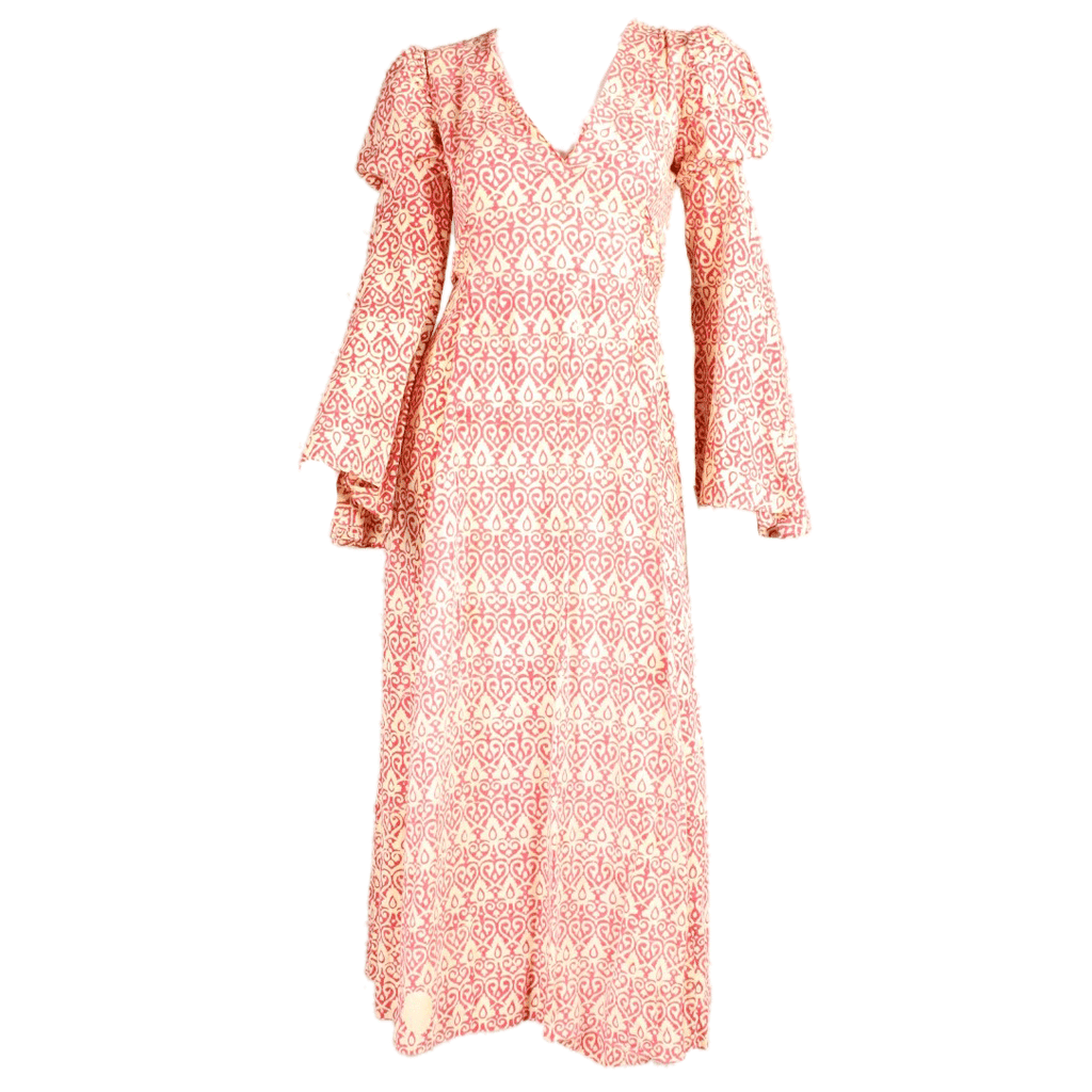 Vintage Dresses: 1970's Bohemian Dress by India Imports