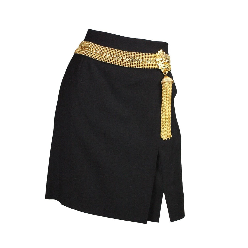 Vintage Clothing: 1990's Gianfranco Ferre with Gold Metal Hardware