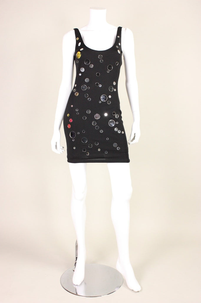 C.D. Greene Cocktail Dress 1990's Mirrored Vintage - regenerationvintageclothing