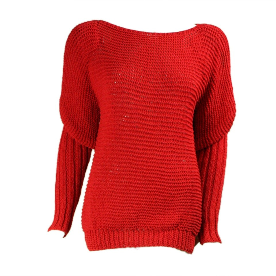 Vintage 1980's Roberta and Brenda Red Sweater
