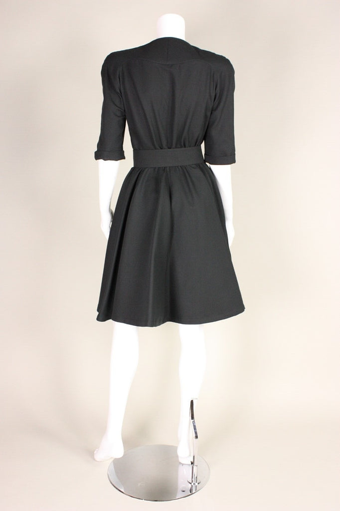 Thierry Mugler Dress 1990's with Nipped Waist Vintage - regenerationvintageclothing