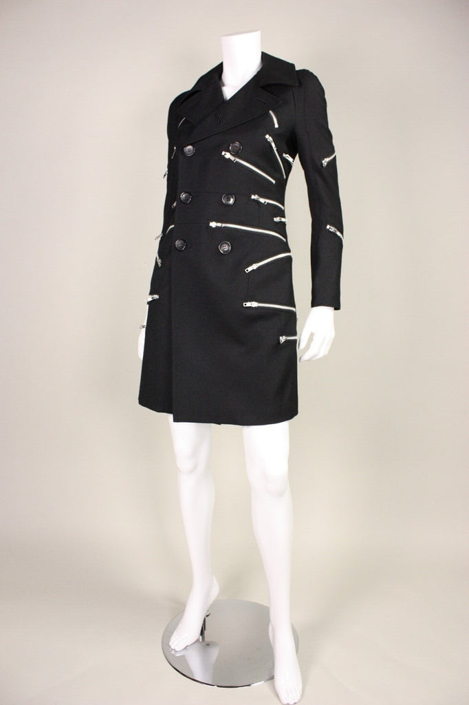 Junya Watanabe Coat for Comme des Garçons Zipper Vintage - regenerationvintageclothing