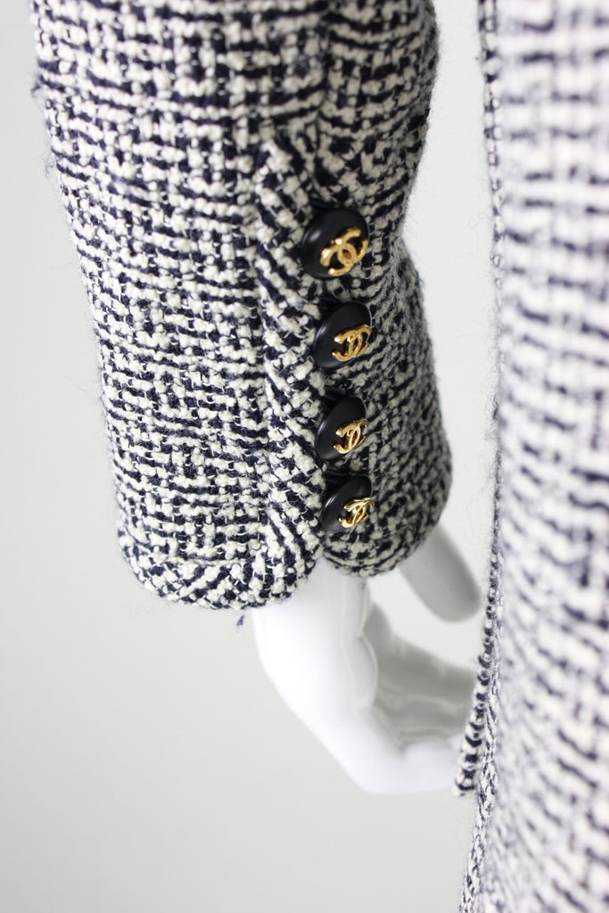 Vintage 1980's Chanel Wool Bouclé Jacket