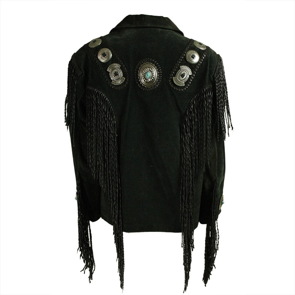 Vintage Clothing: 1980's Fringed Suede Jacket