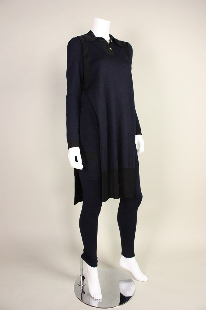 Chanel Jumpsuit & Tunic 1990's Wool Vintage - regenerationvintageclothing