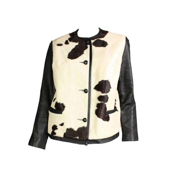 Vintage Clothing: 1960's Cowhide & Leather Jacket