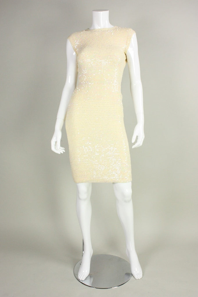 Vintage 1960's Anna Giovannozzi Sequined Knit Ensemble