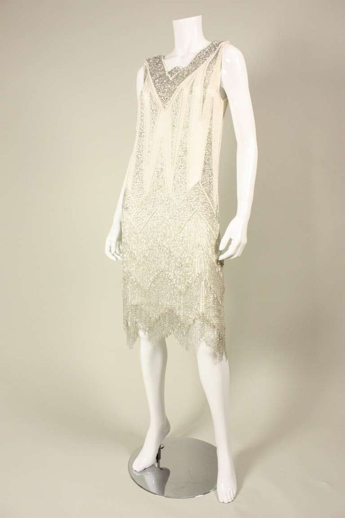 Bob Mackie Dress 1980's Beaded Vintage - regenerationvintageclothing