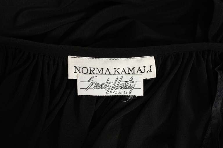 Norma Kamali Jacket 1980's Gathered Vintage - regenerationvintageclothing