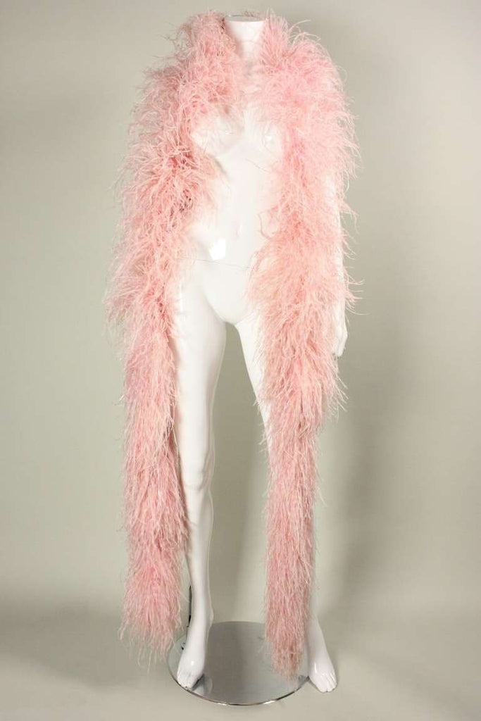 1970's Boa Ostrich Feather Vintage - regenerationvintageclothing