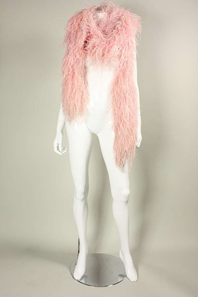 Vintage 1970's Ostrich Feather Boa